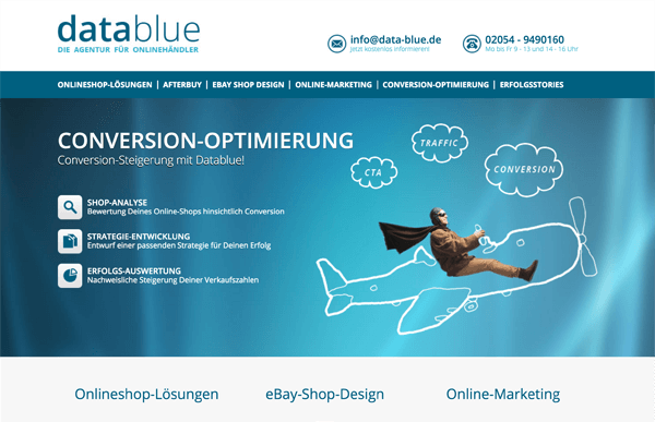 datablue web site