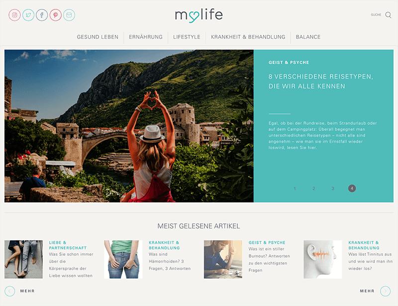 mylife.de screenshot