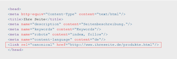 Canonical-Tag-im-Quellcode Risiken für SEO Canonical Tags