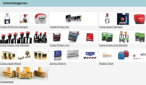 Stempel Shop-1 Optimisation pour les boutiques en ligne Experts pour les boutiques en ligne