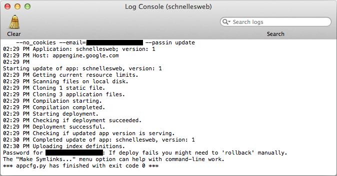 Site Web de la console du moteur d'applications Google Turbo Google CDN