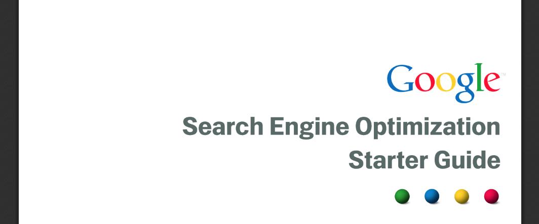 Livres Google Guide de démarrage SEO Livres SEO
