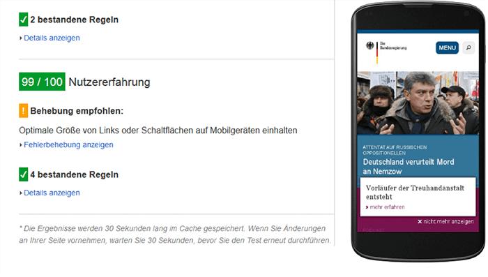 18-The-Page-is-for-Mobile-Optimisé1 avantages clés pour SEO Google Search Console