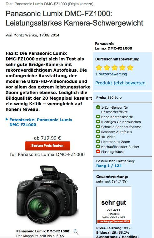 Panasonic Lumix Good Content Content