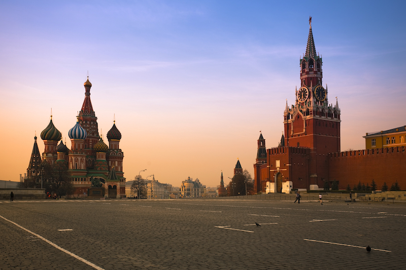 Red Square Moscow at sunrise (XXXL)