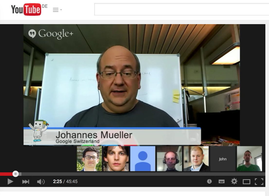 john-mueller Quality Search OnPage Optimierung Interview Google