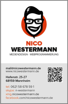 carte de visite QR Code Marketing en ligne Marketing mobile