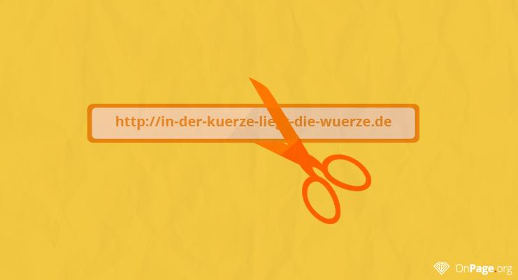 Google: Wir bevorzugen kurze URLs