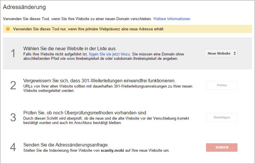 andreassaenderung-2 SEO Relance Domainwechsel