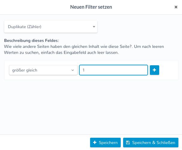 filter2 Longueur de l'URL SEO