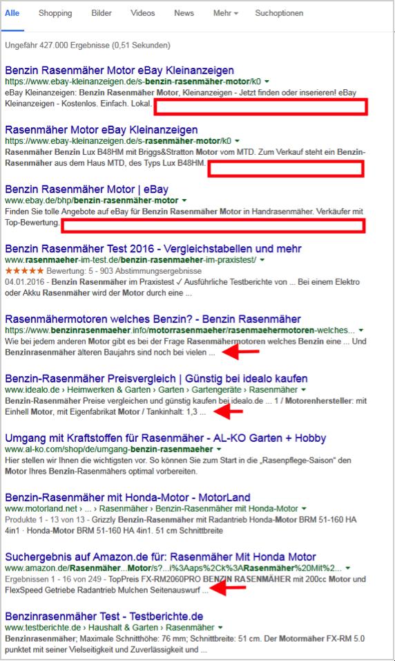 Google Testet Langere Snippets Mehr Platz Fur Title Und Description