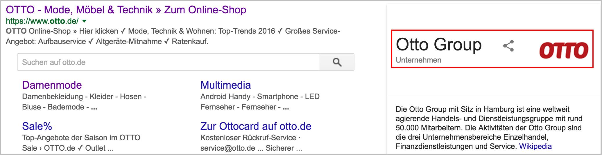 Figure6-ottoGoogle Recherche Rich Snippets Boutique en ligne Rich Snippet