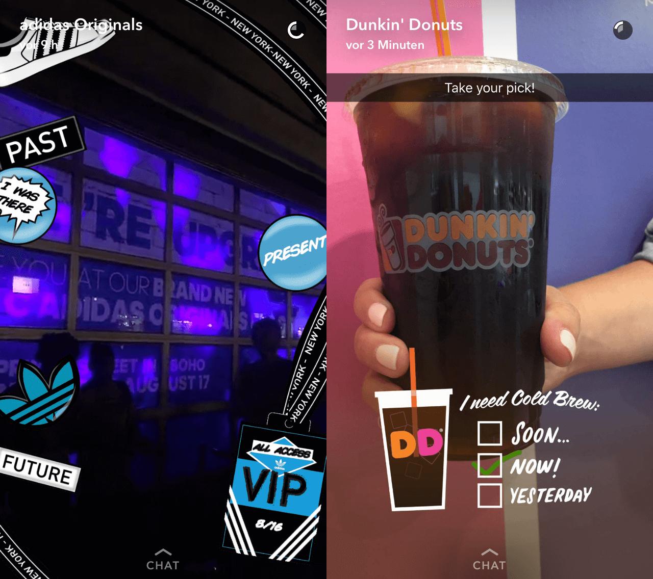 dani2-1 Snapchat des médias sociaux