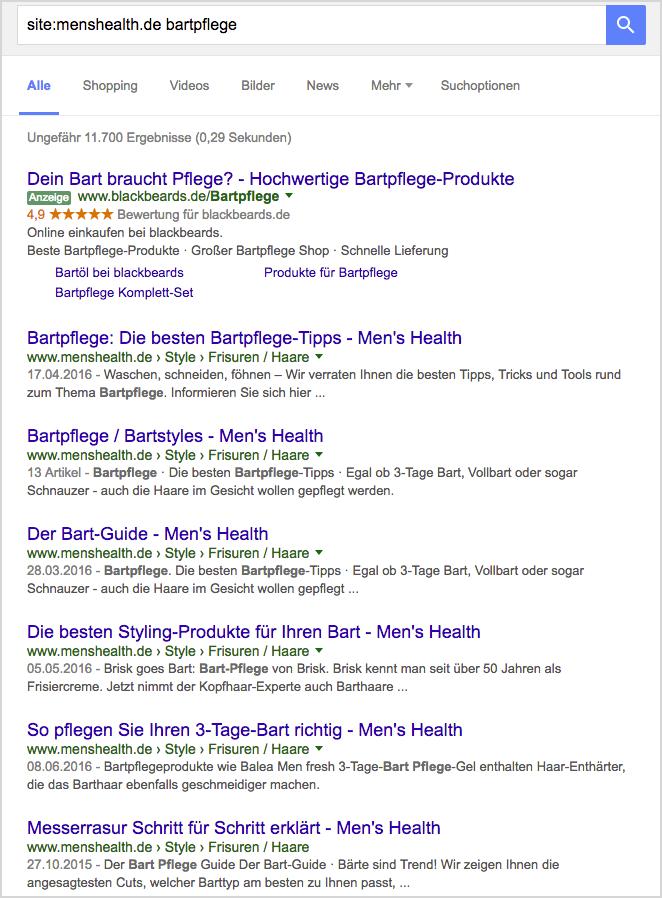 menshealth care search WDF * IDF Mots clés recherche
