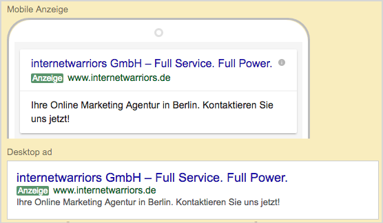 Abbildung5 SEA Google Adwords