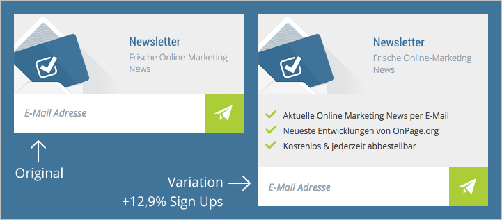 test Newsletter E-Mail Marketing E-Mail