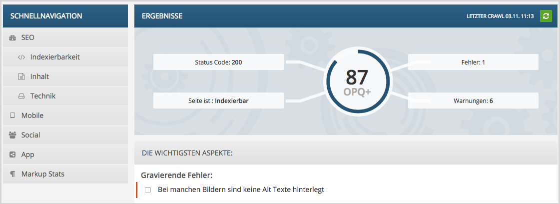 focus SEO Mobile Optimierung Google Mobile Update