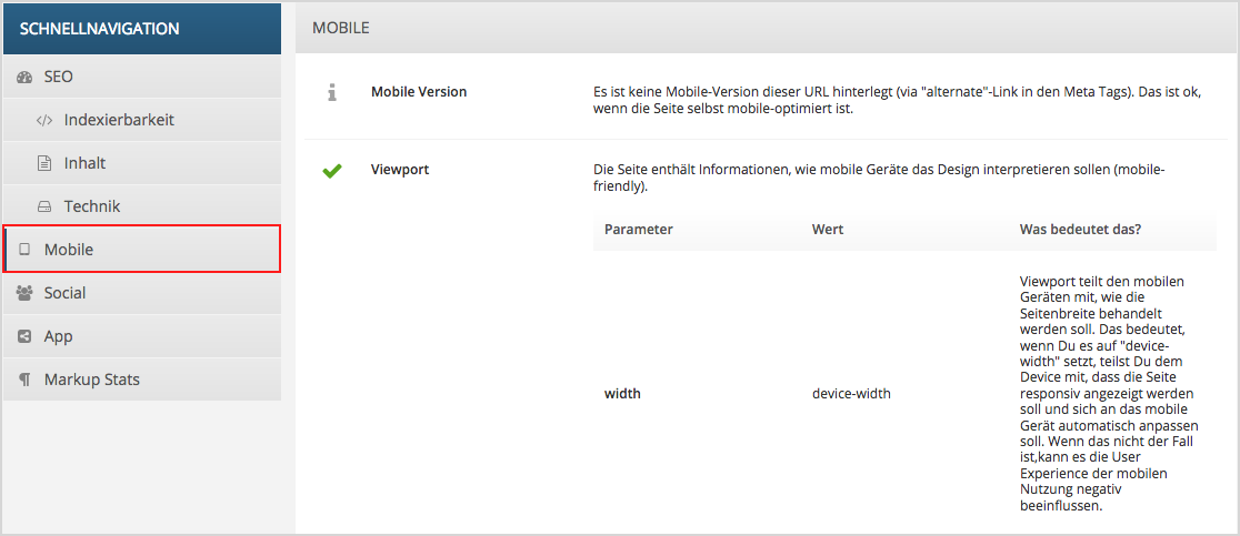 mobile SEO Mobile Optimierung Google Mobile Update