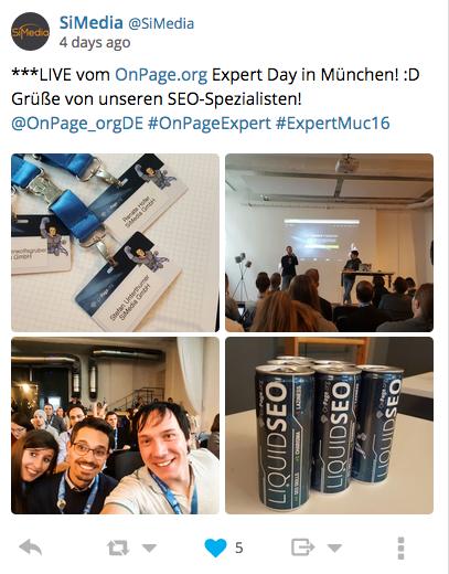 tweet2 Event Expert OnPage Expert
