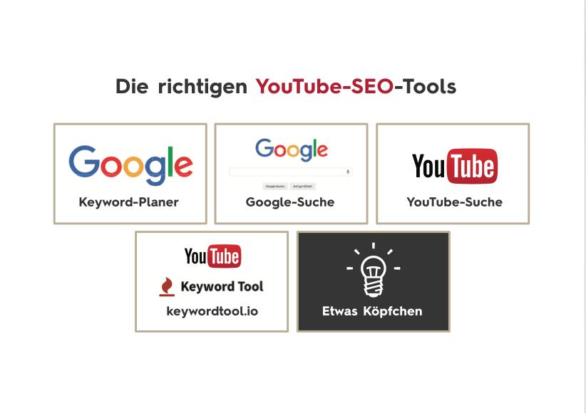 outils de référencement vidéo YouTube Référencement vidéo