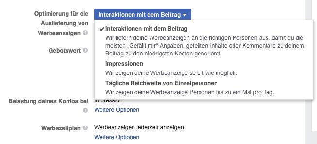 Publicité sur Facebook 3 buts Publicité sur Facebook