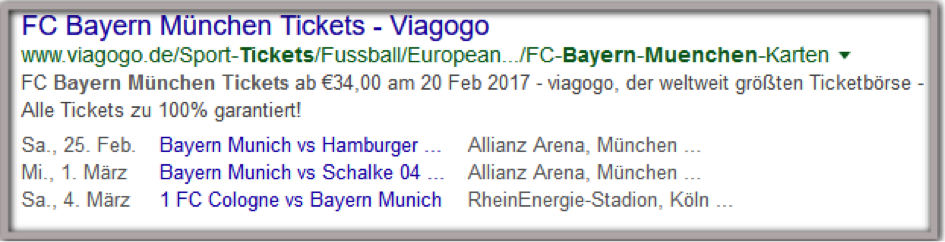 bayern Rich Snippets Rich Snippet Meta Description