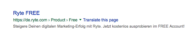 snippet-ryte-free SEO Fehler SEO