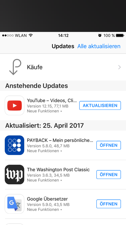 Apple-App-Store Progressive Apps Native Apps Mobile Optimierung