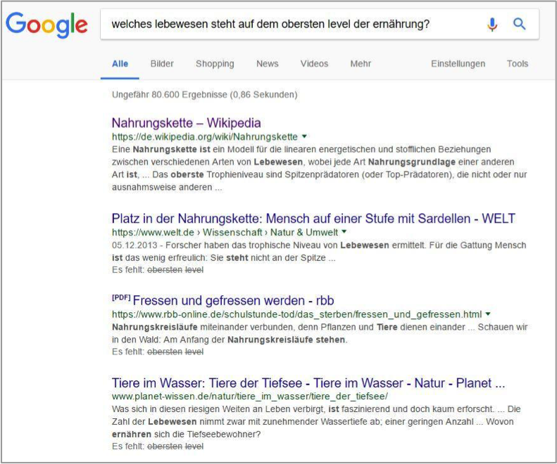 nahrungskette8 Semantic SEO Semantic Search Semantic Content Optimization
