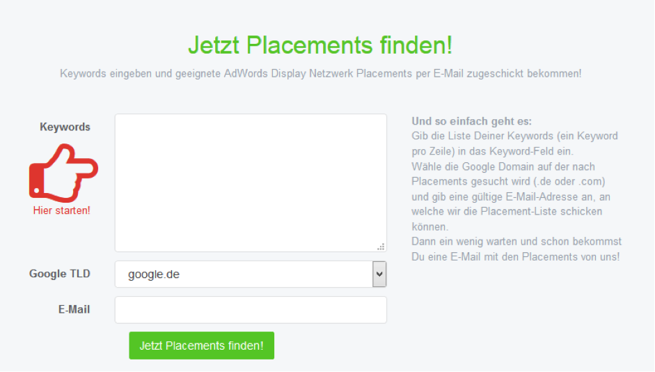 placement1 Guide pratique Alignement de l'affichage