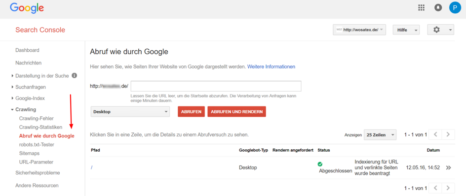 Google Search Console SEO JavaScript
