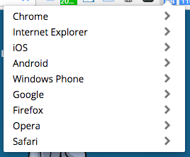 Google User Agent Switcher
