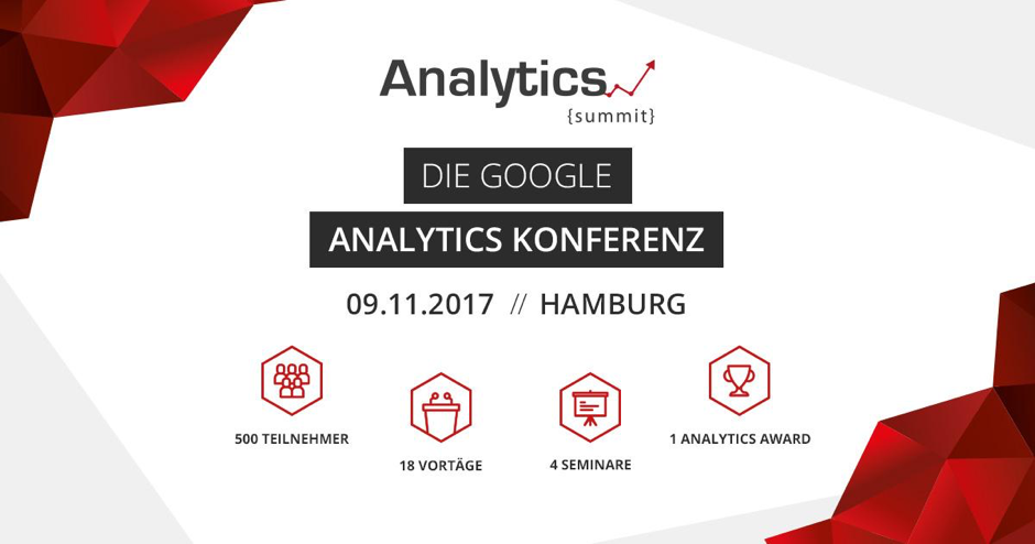 Google Analytics Konferenz Infos