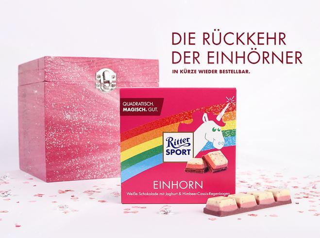 Unicorn Chocolate Content Marketing Types de contenu
