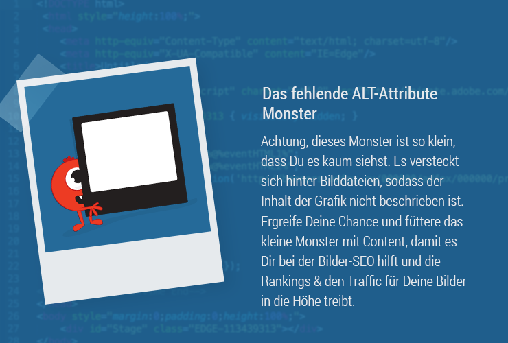 Magazine Monster ALTTags SEO ALT attribut