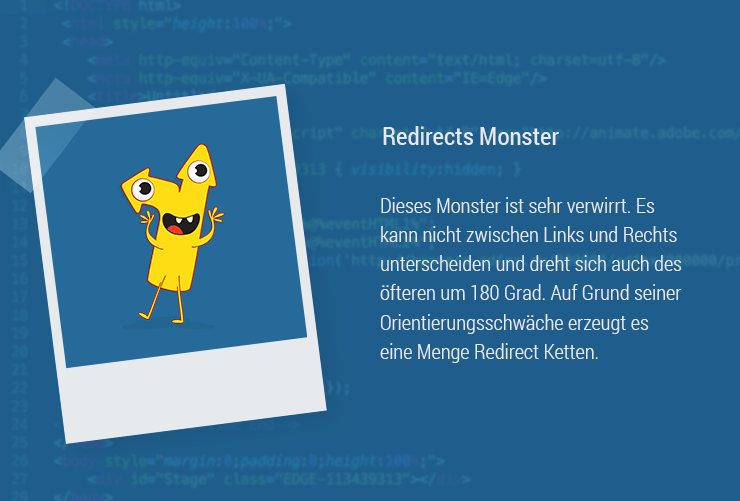 Magazin-Monster-Redirects weiterleitung 301 Redirect