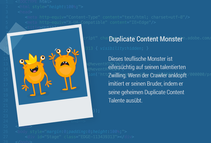 Magazin-Monster-duplicateContent