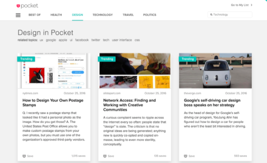 pocket Content Marketing
