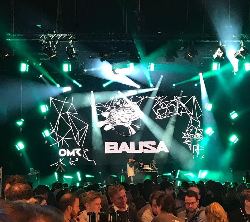 bausa OMR Festival 2018