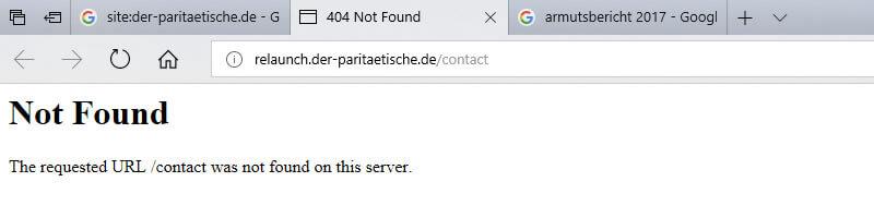 Analyse du référencement d'une organisation de protection sociale 404-error-parity