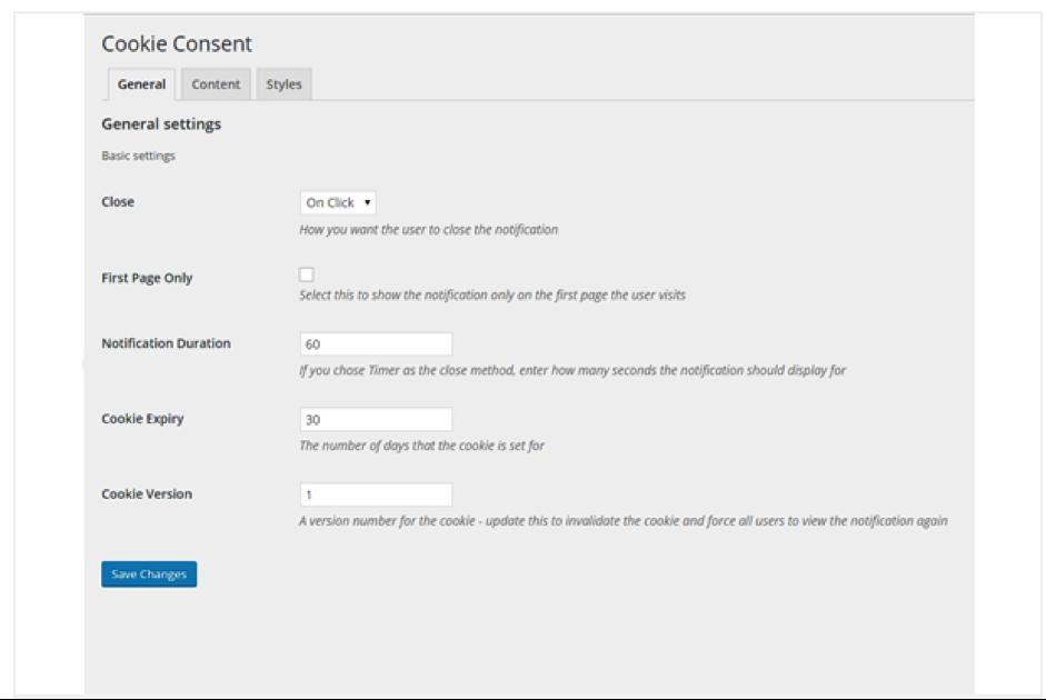 cookie-consent Yoast WordPress Redaktionshelfer
