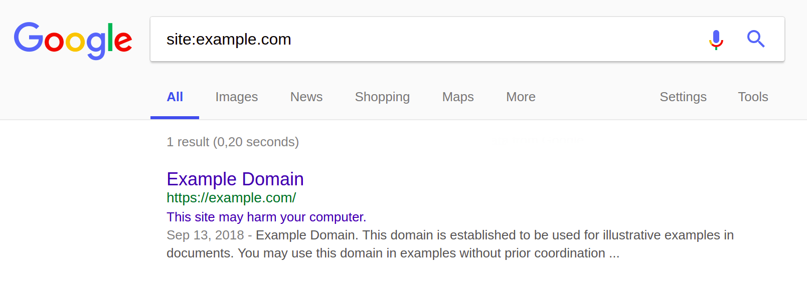 SearchBrothers.com-Compromised-Site-SERP-Warning