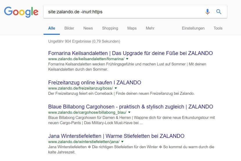 site-3 suchbefehle inurl Google