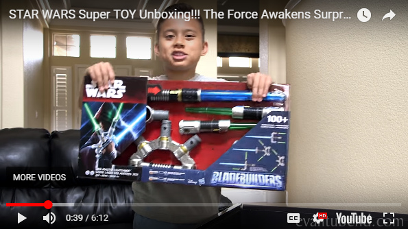 marketing vidéo star-wars-unboxing