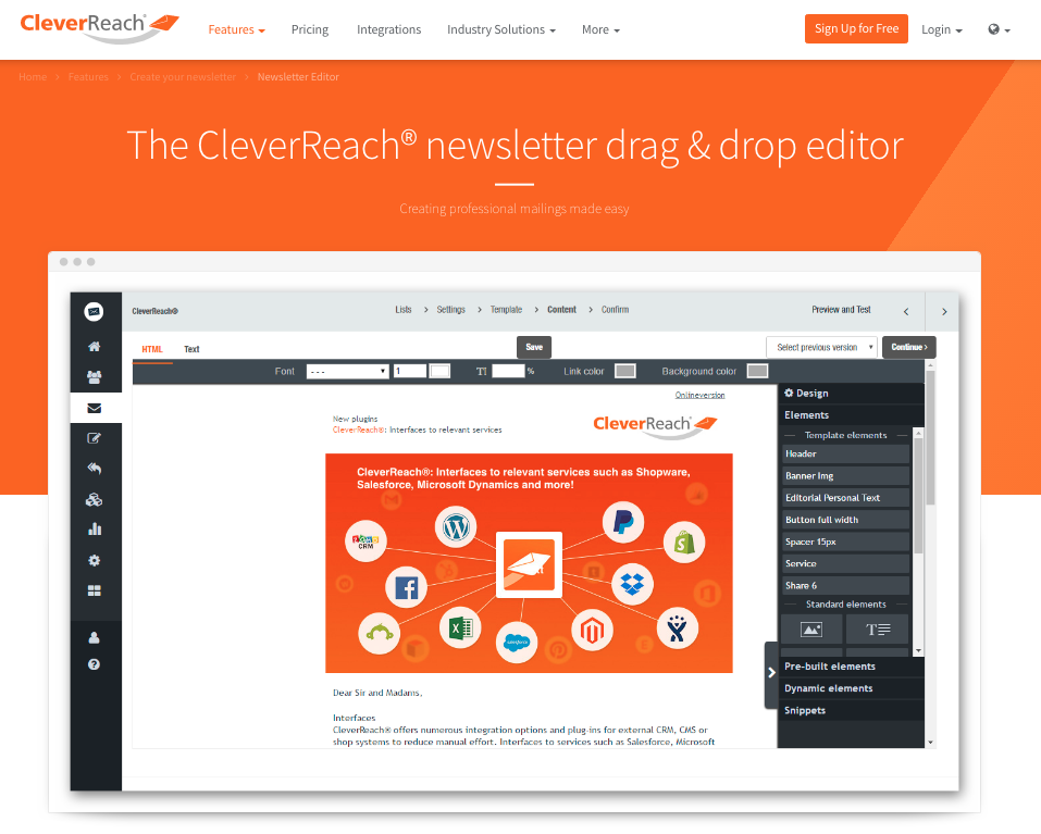 CleverReach-NewsletterTool E-Mail Marketing E-Mail