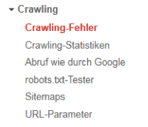 Crawling-Fehler