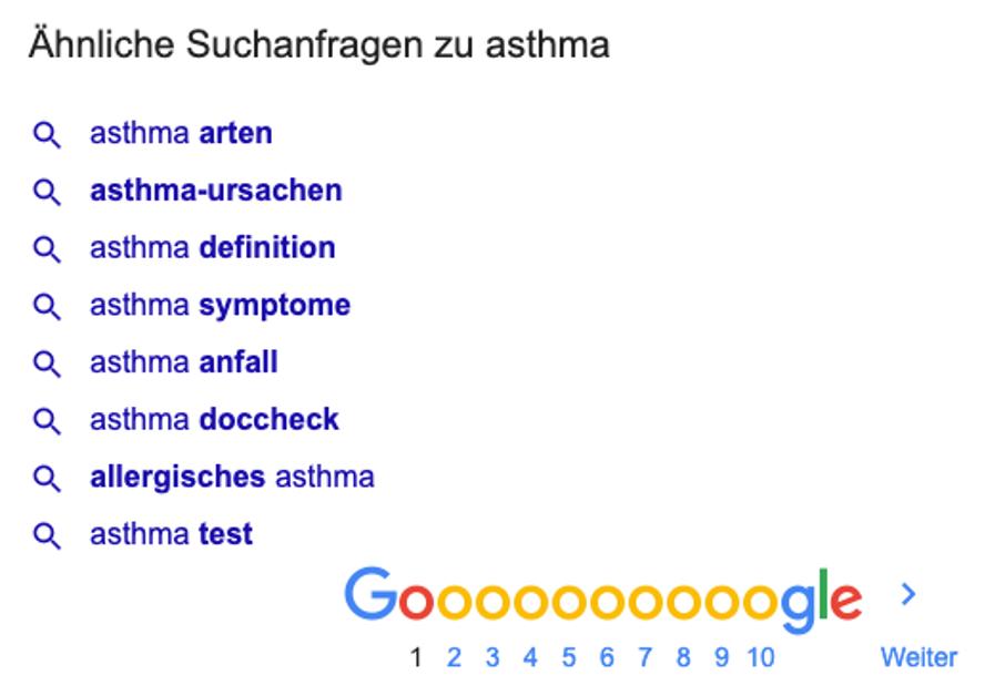 ähnliche-suchanfragen-asthma