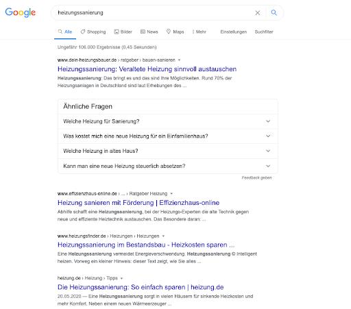 Google-serp-heizungssanierung