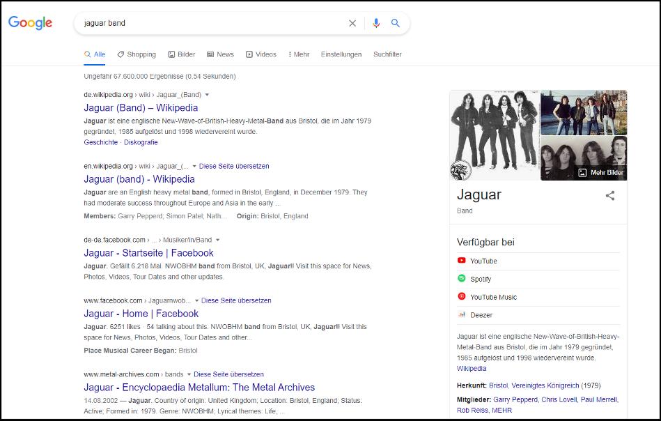 google-jaguar-band