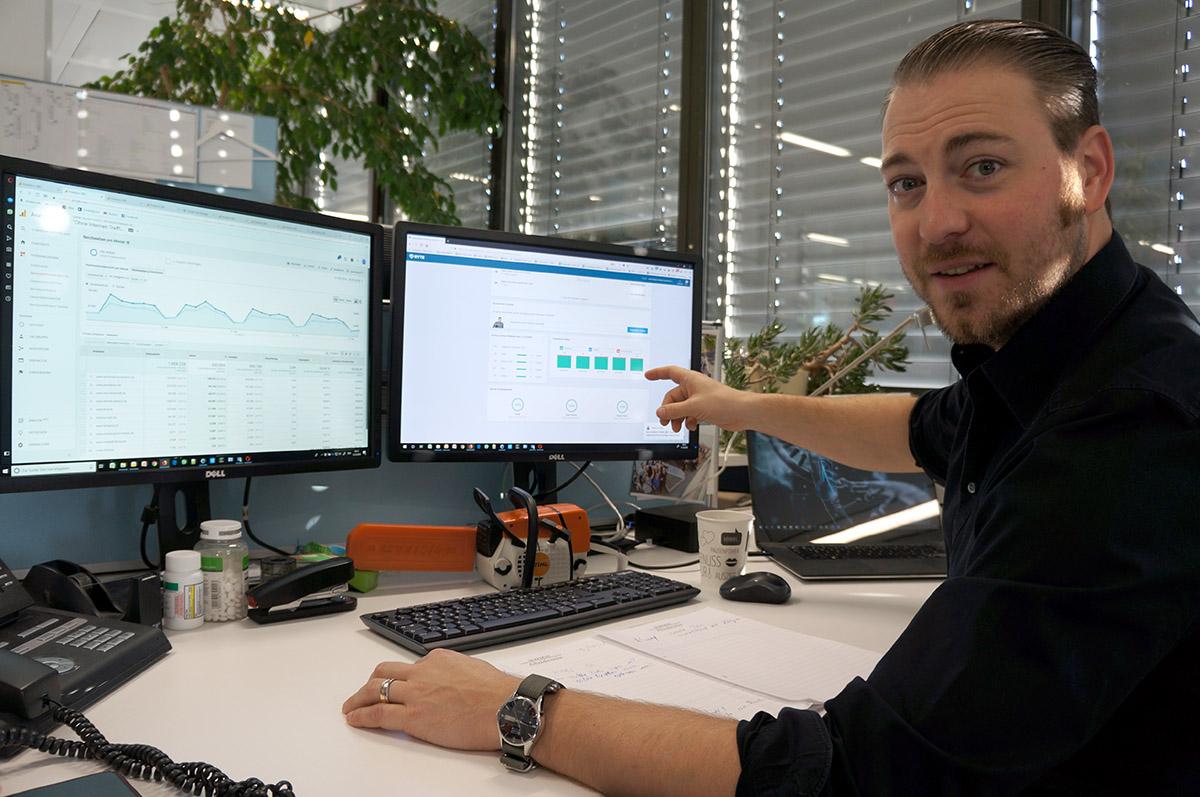 with Ryte: Anstieg der Seitenbesucher um den Faktor 5